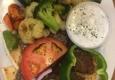 Boston Pizzeria - Greenville, SC. Gyro Platter with Veggies & Zaziki!