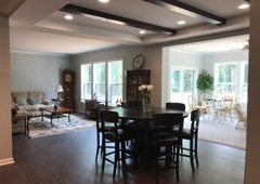 Homes By Vanderbuilt Sanford Nc Sun Room Dining Living Rooms