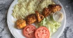 Sahara Middle Eastern Cuisine - Pasadena, CA. Chicken kabob lite lunch