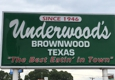 Underwood's Cafeteria - Brownwood, TX