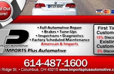 Imports Plus Automotive - Columbus, OH
