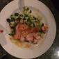 Cinco Mexican Cantina - Atlanta, GA. Grilled Salmon with mango salsa