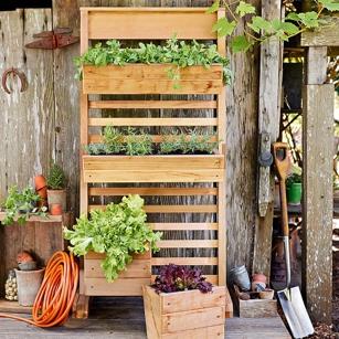 Williams-Sonoma vertical garden