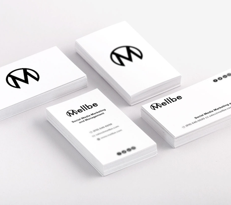 Amberd Design Studio - Los Angeles, CA. The Mellbe Business Cards