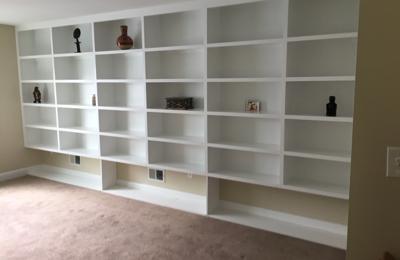 Custom Remodeling & Restorations, LLC. Bookshelves