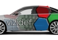 Print Blitz Michigan Sign Shop - Dorr, MI. Full color digital vehicle wrap Audi A8