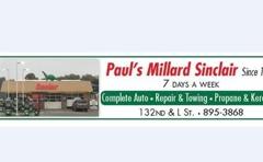 Paul's Millard Sinclair