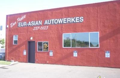 Dave Parker's Eur-Asian Autowerkes - Napa, CA