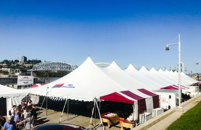 ColdIron Event Rentals - Cincinnati, OH. Oktoberfest Newport 2018