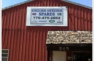 English-Swedish Spares - Alpharetta, GA