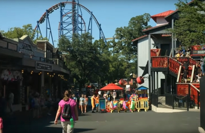 Six Flags Over Texas - Arlington, TX. Six Flags Over Texas 22 minutes drive to the east of North Texas Smiles Pediatric Dentistry & Orthodontics Fort Worth TX
