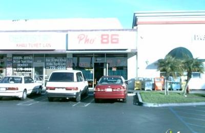 Pho 86 Restaurant - Westminster, CA