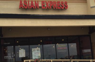 Asian Express Hiram Ga Lot View