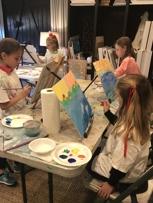 Elementary Art Class, Natalie B. Stanley Studio
