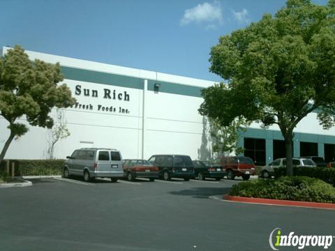 Sun Rich Fresh Foods Usa Inc 515 E Rincon St Corona Ca
