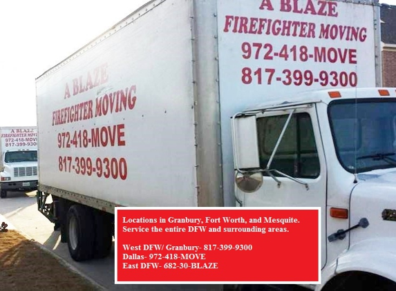 ABLAZE Firefighter Movers, LLC - Granbury, TX