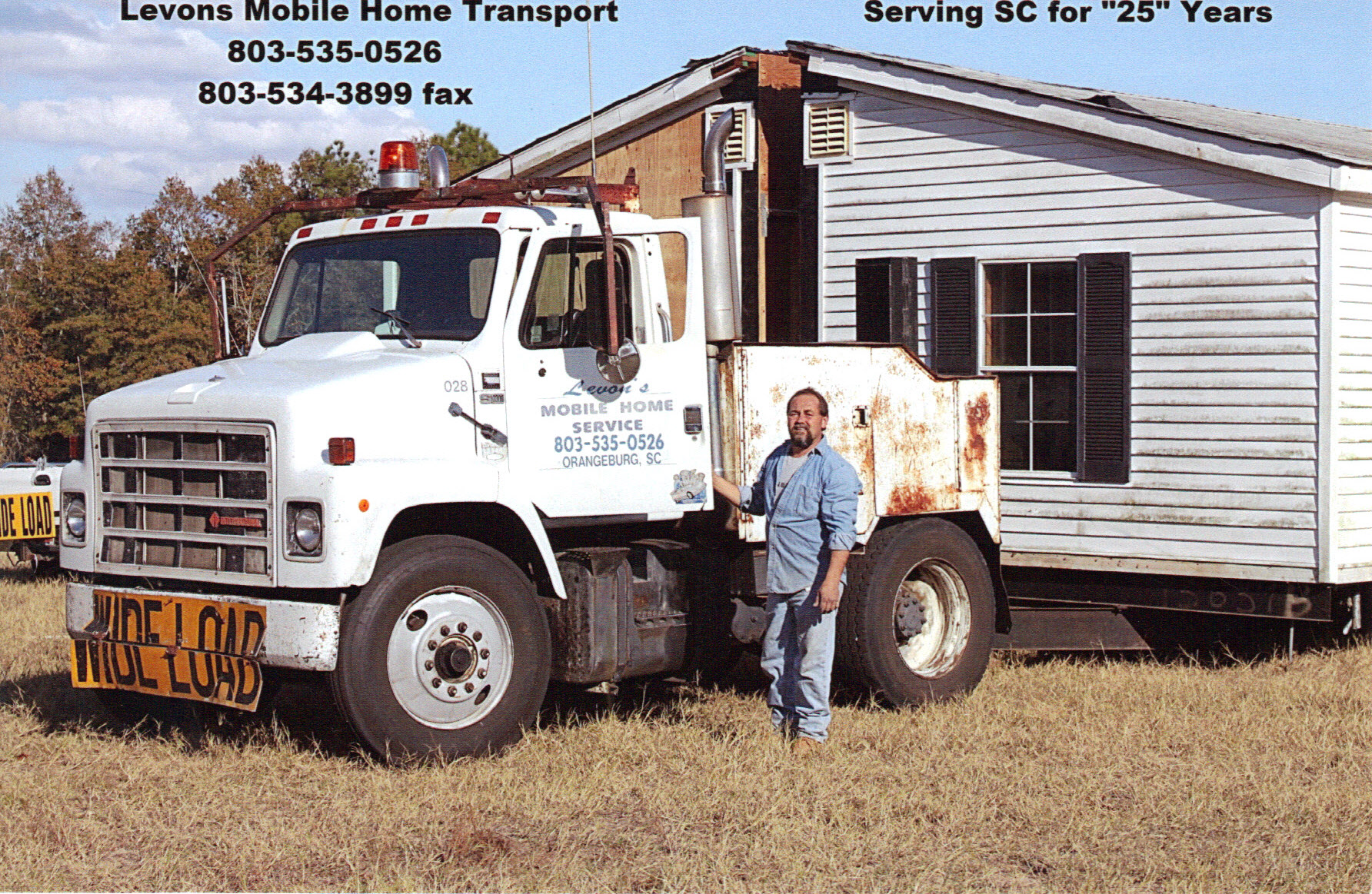 Levon's Mobile Home Transporting & Set Up Neeses, SC 29107 ... on mobile telecommunications, mobile machinery, mobile communications, mobile security, water jetting services, mobile trucks, mobile home, mobile food, mobile advertising,