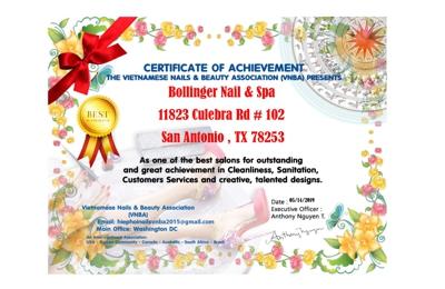 Bollinger Nail And Spa - San Antonio, TX