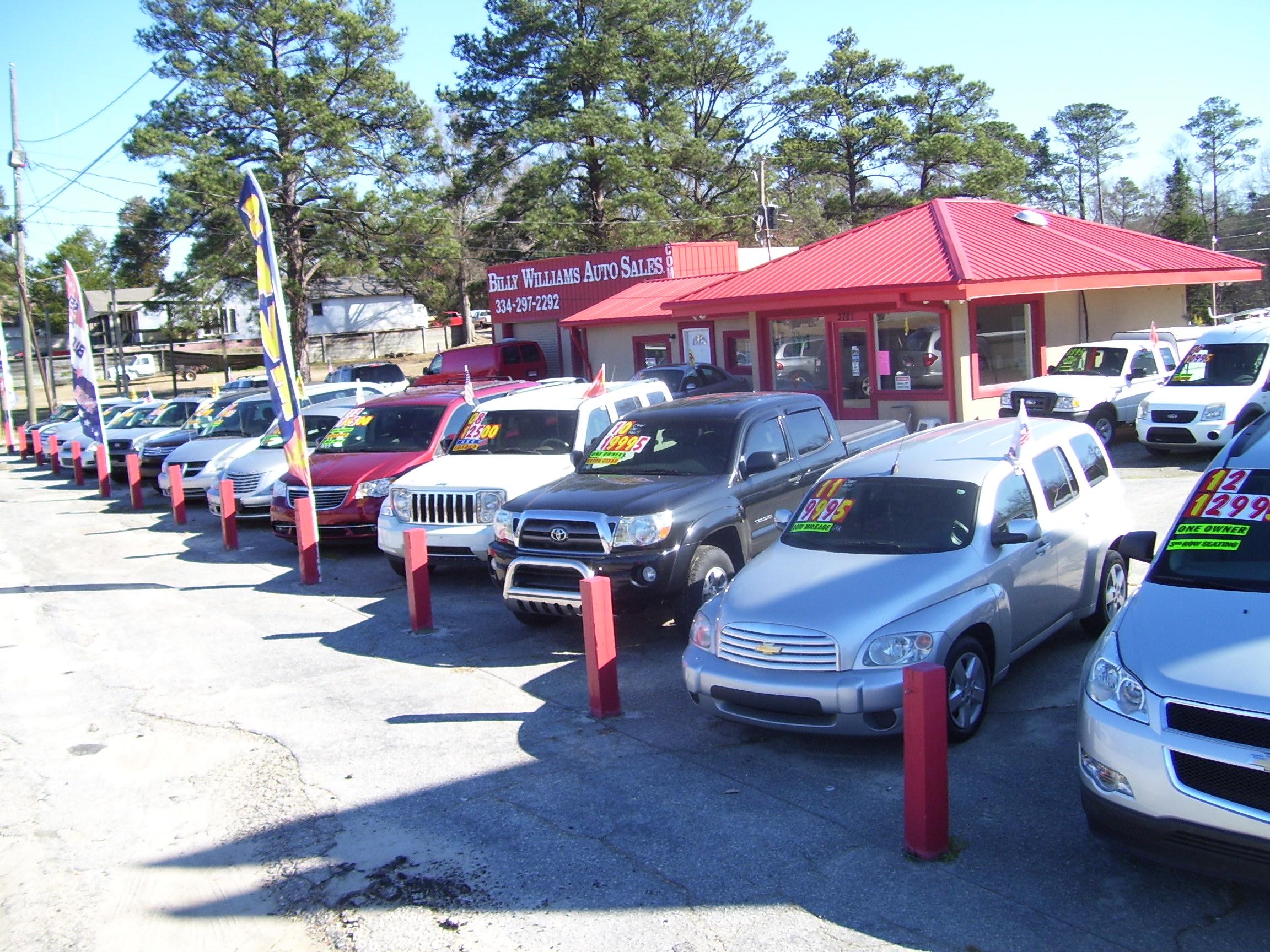 Billy Williams Auto Sales 3781 Us Highway 80 W Phenix City AL
