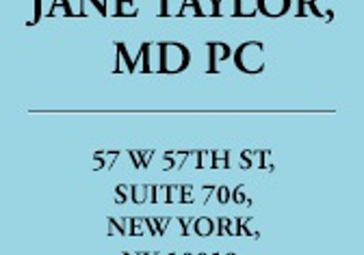 Dr Jane Taylor 200 W 57th St Ste 510, New York, NY 10019