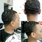 A Little Off The Top Barber Shop - Oakland, CA. Brush Taper.  Barber: Terrance  Call : 510-531-8677 for appointment scheduling