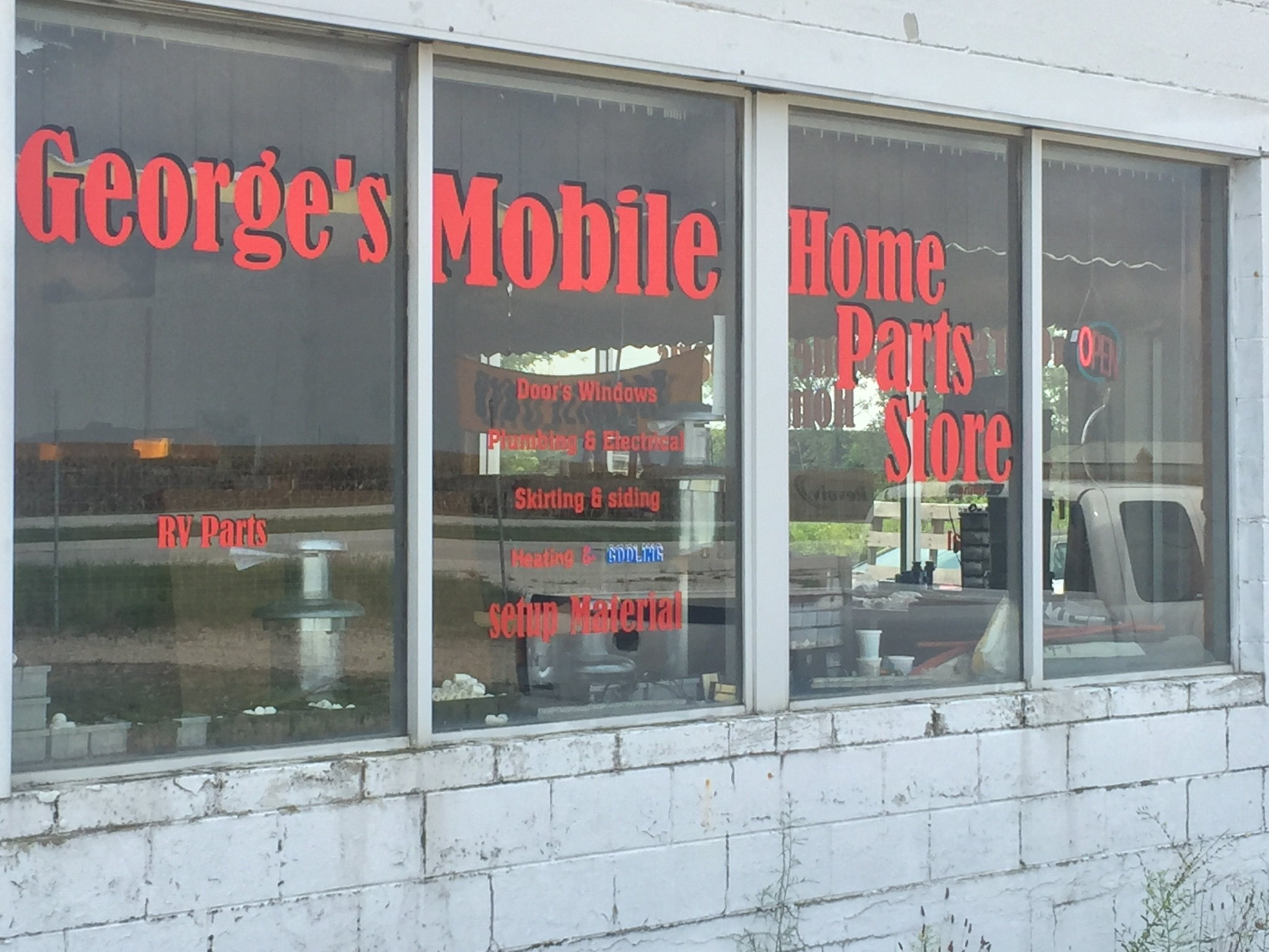 Georges Mobile Home Parts Store 10734 E Us Highway 52