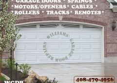 Attractive Williams Garage Door Repairs   Morgan Hill, CA