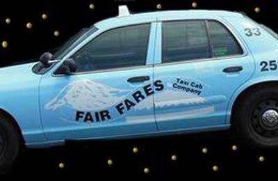 Fair Fares Taxi Cab - Tacoma, WA