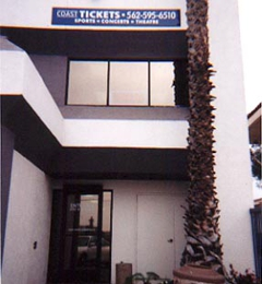 Coast Tickets - Long Beach, CA