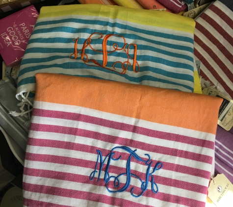 Andres' Day Spa & Gifts - Henrico, VA. Monogram Turkish towels