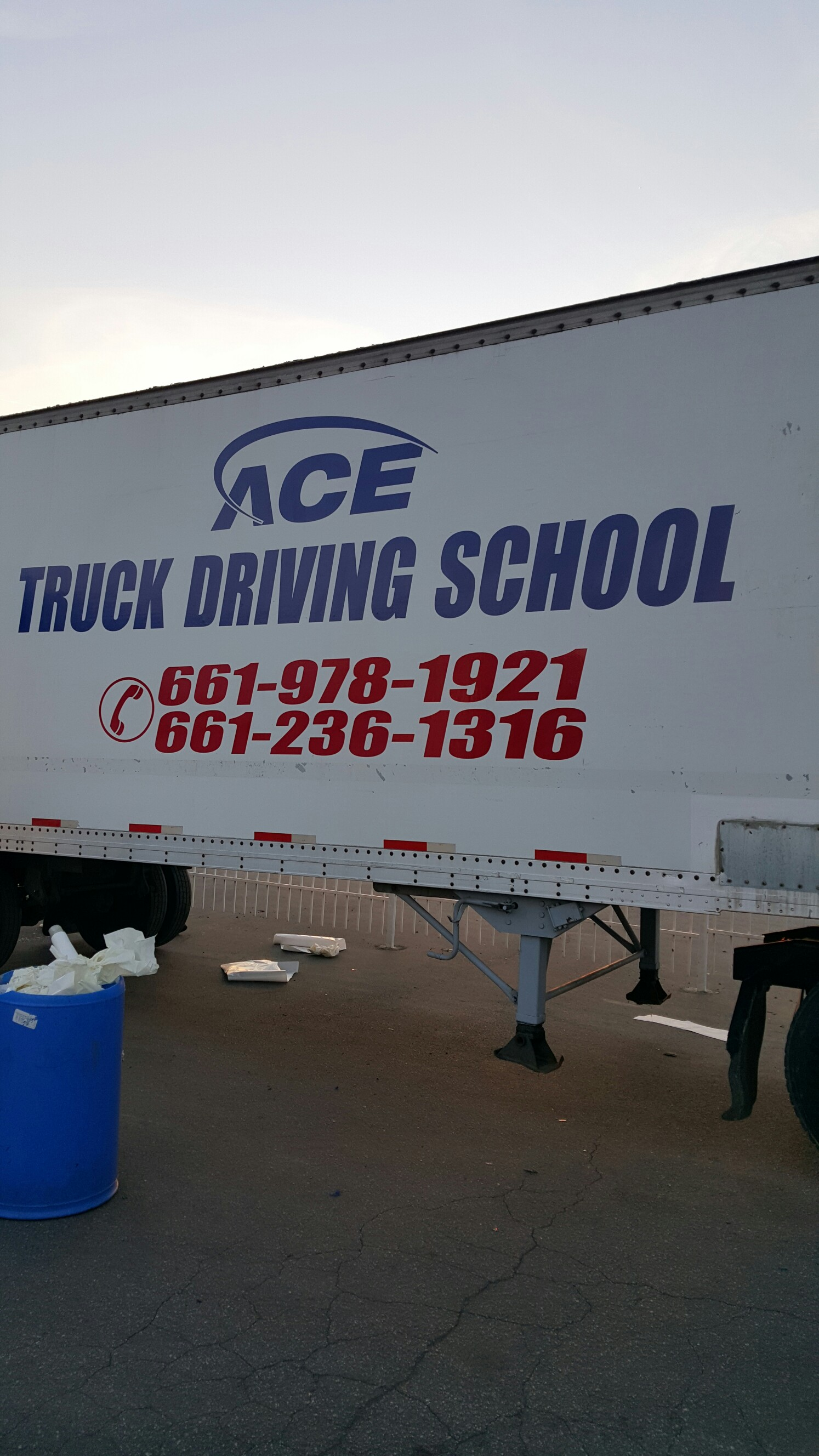 Ace Truck Driving School 1500 E Brundage Ln Bakersfield Ca 93307