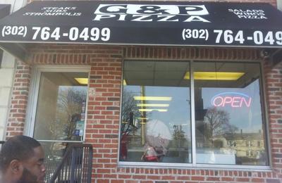 G P Pizza - Wilmington, DE. Got him.. he part of the Yellow Pages now....