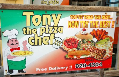 Tony The Pizza Chef 2 - Hollywood, FL