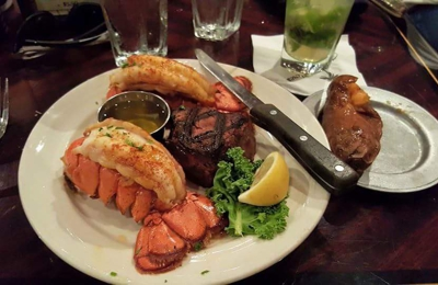 Tropical Acres Steakhouse - Fort Lauderdale, FL. Surf and Turf for Bill Lewis of Cooper  City, Florida.
