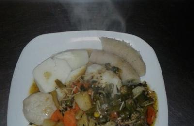 Island Reggae Kitchen - Gardena, CA. Real yard food