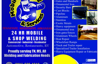 Smith's Mobile Welding, LLC - Memphis, TN. Welding Services
