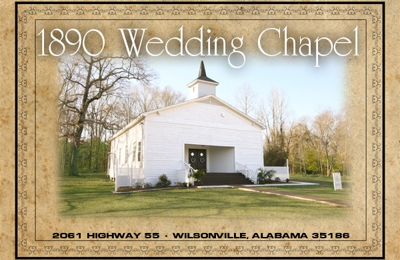 1890 Wedding Chapel 2061 Highway 55 Wilsonville Al 35186