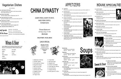 China Dynasty - Borger, TX