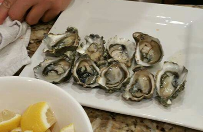 Sunh Fish - Sacramento, CA. The oysters we shucked ourselves but purchased from Suhn.