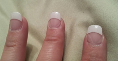 Nails 54 - Buffalo, NY. 4 days after my manicure the glue becoming undone and the gel receding