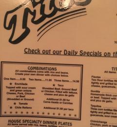 Titos Restaurants Mexican 444 E William St Ste 20 Carson City Nv