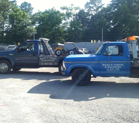 Ricky's Towing & Recovery - Hampton, VA