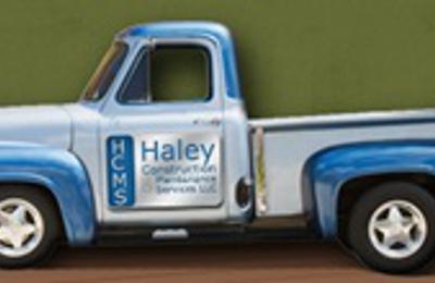 Haley Construction & Maintenance Service, LLC - Eugene, OR