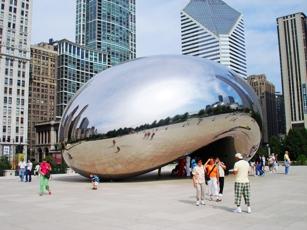 Millennium Park giant bean