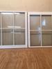 Custom wood custom double hung window sashes, project in VA.