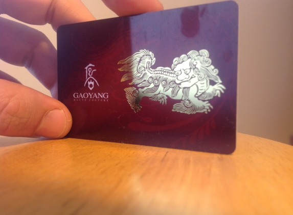LA Plastic Card Printing - Los Angeles, CA. Amazing gold foil effect...
