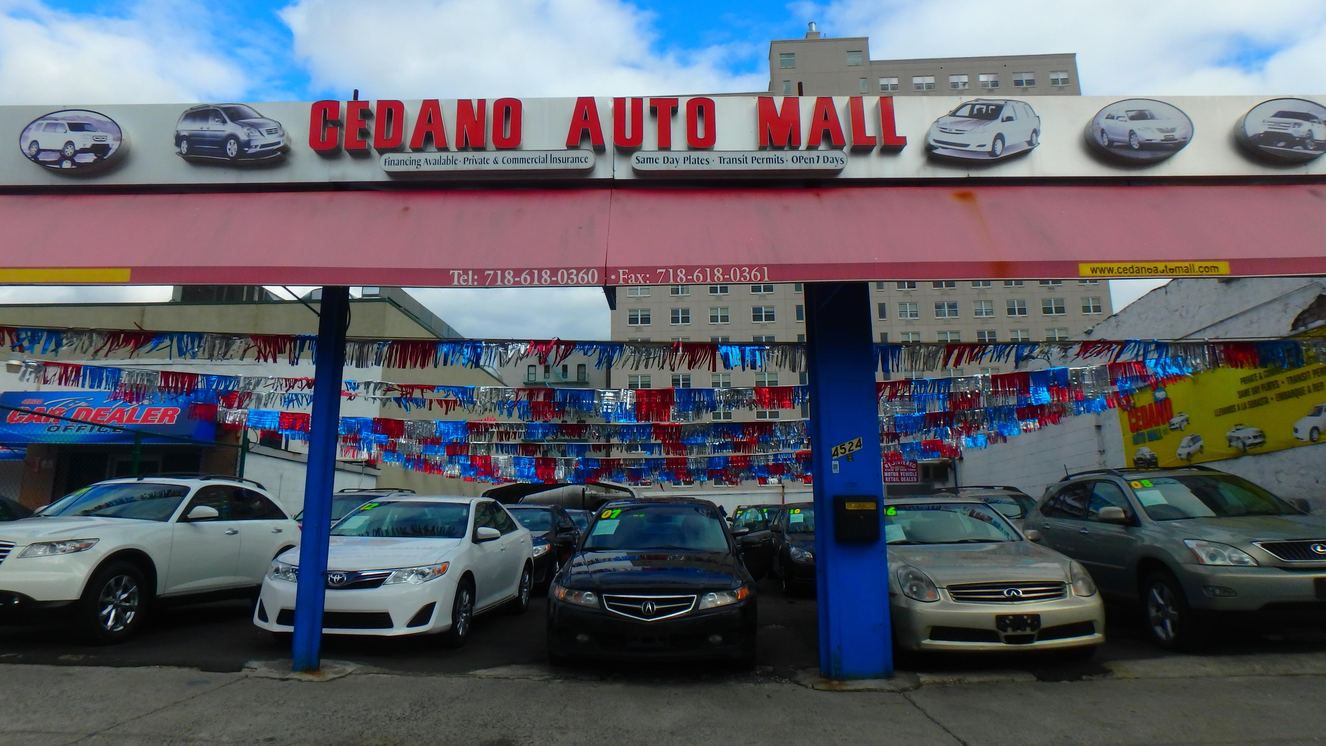 Park Auto Mall >> Cedano Auto Mall 4524 Park Ave Bronx Ny 10457 Yp Com