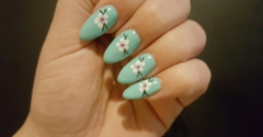 Nails Pro - Stockton, CA. My nails look so good, my boyfriend did not believe Sandy drew the flowers by hand! He thought they were stickers!
