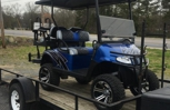 Custom built cart from Metrolina Carts