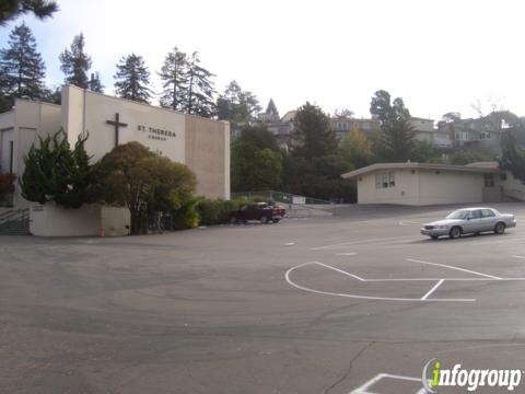 St Theresa School 4850 Clarewood Dr Oakland Ca 94618